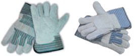 82-7663 Split Leather Palm Gloves